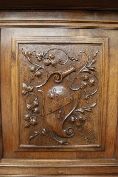 walnut henri ii cabinet cabinets houtroos