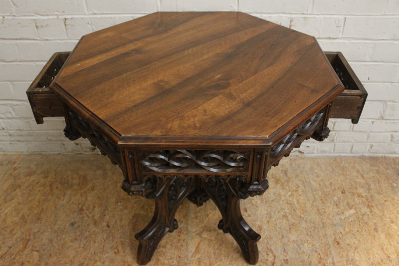 Awe Inspiring Gothic Coffee Table Tables Houtroos Gmtry Best Dining Table And Chair Ideas Images Gmtryco