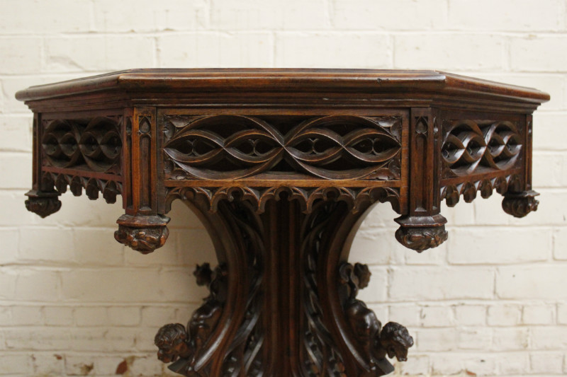 Swell Gothic Coffee Table Tables Houtroos Gmtry Best Dining Table And Chair Ideas Images Gmtryco