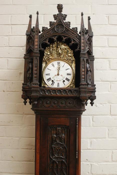 Gothic Grandfather Clock Grandfather Clocks Houtroos