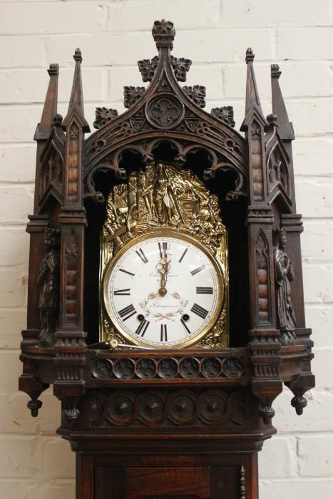 Gothic Grandfather clock - Grandfather clocks
