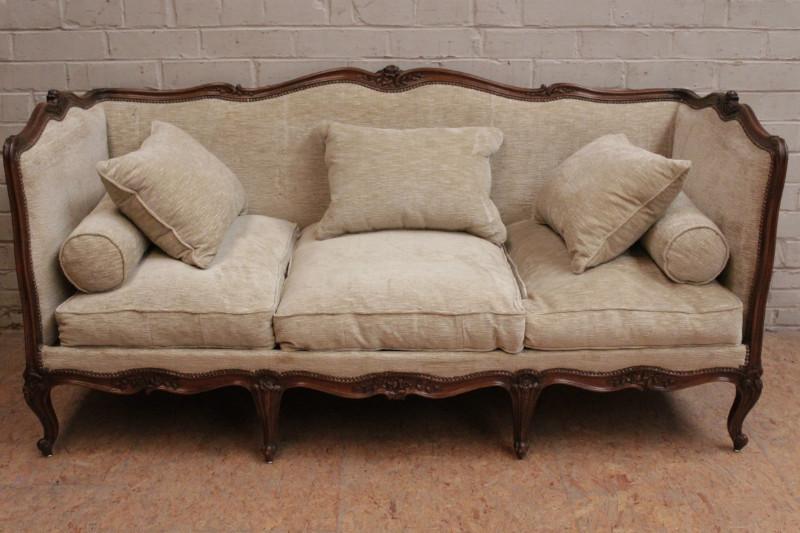 Large Louis Xv Sofa Seats Houtroos