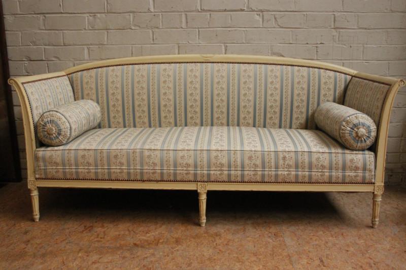 Paint louis xvi sofa in perfect condition 751euro 1000 for Sofa 50 euro